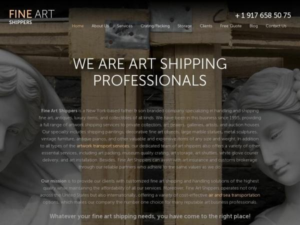 fineartshippers.com