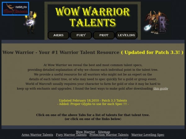 wowwarrior.net